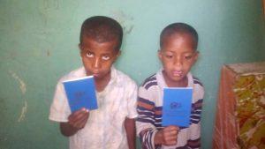Sparbücher für Alazar und Yeheya